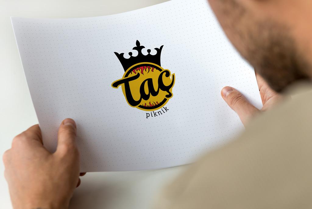 Taç Piknik Logo Tasarımı