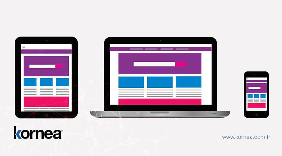 Mobil uyumlu web tasarımında tüm cihazlar ile uyumluluk