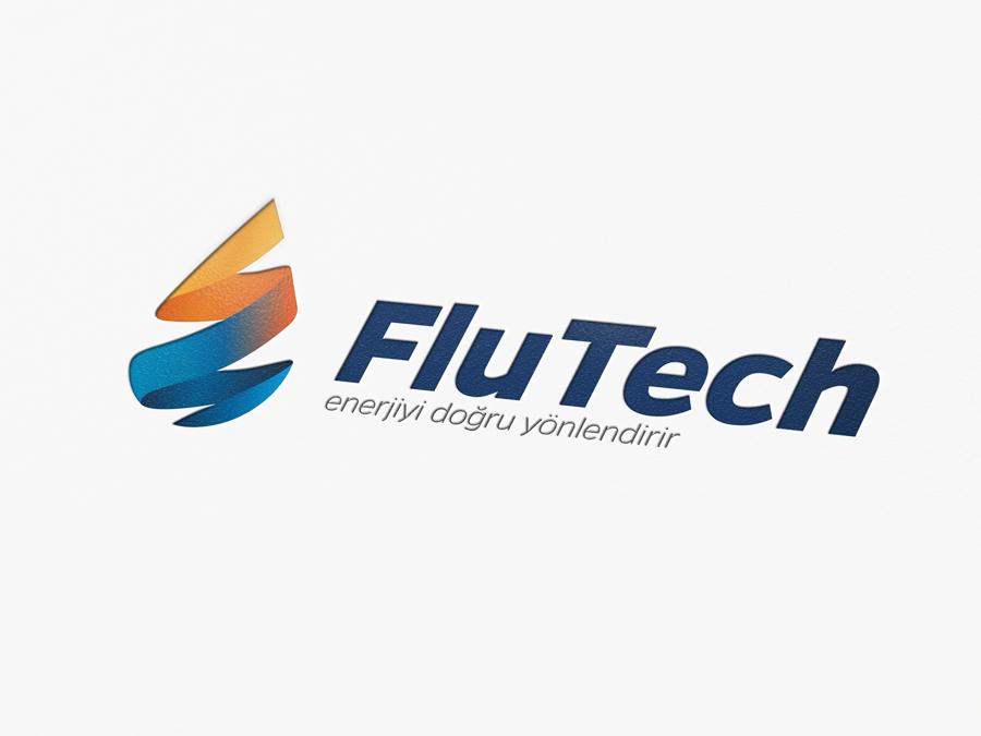 Flutech Logo Tasarımı
