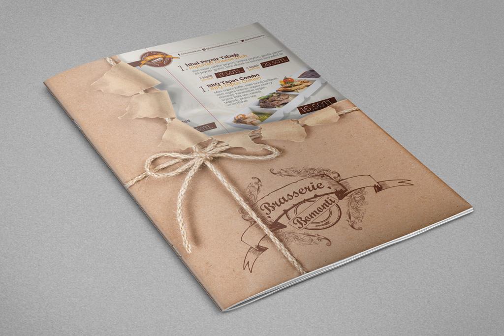 Brasserie Bomonti Logo Tasarımı