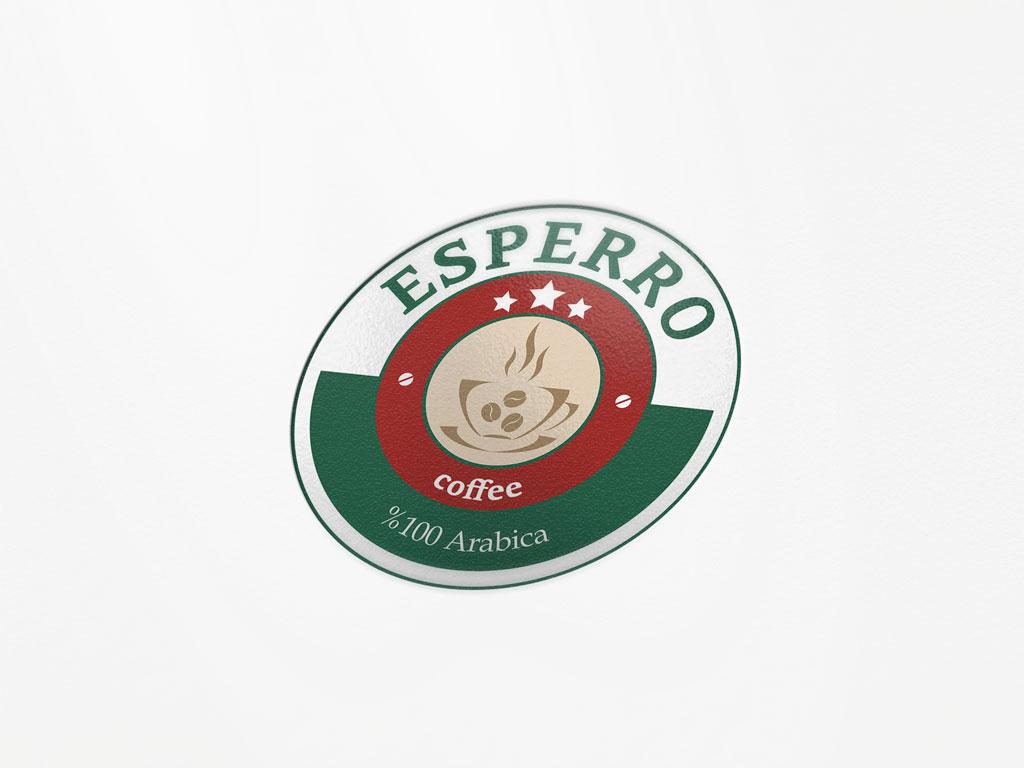 Esperro Kahve Logo Tasarımı