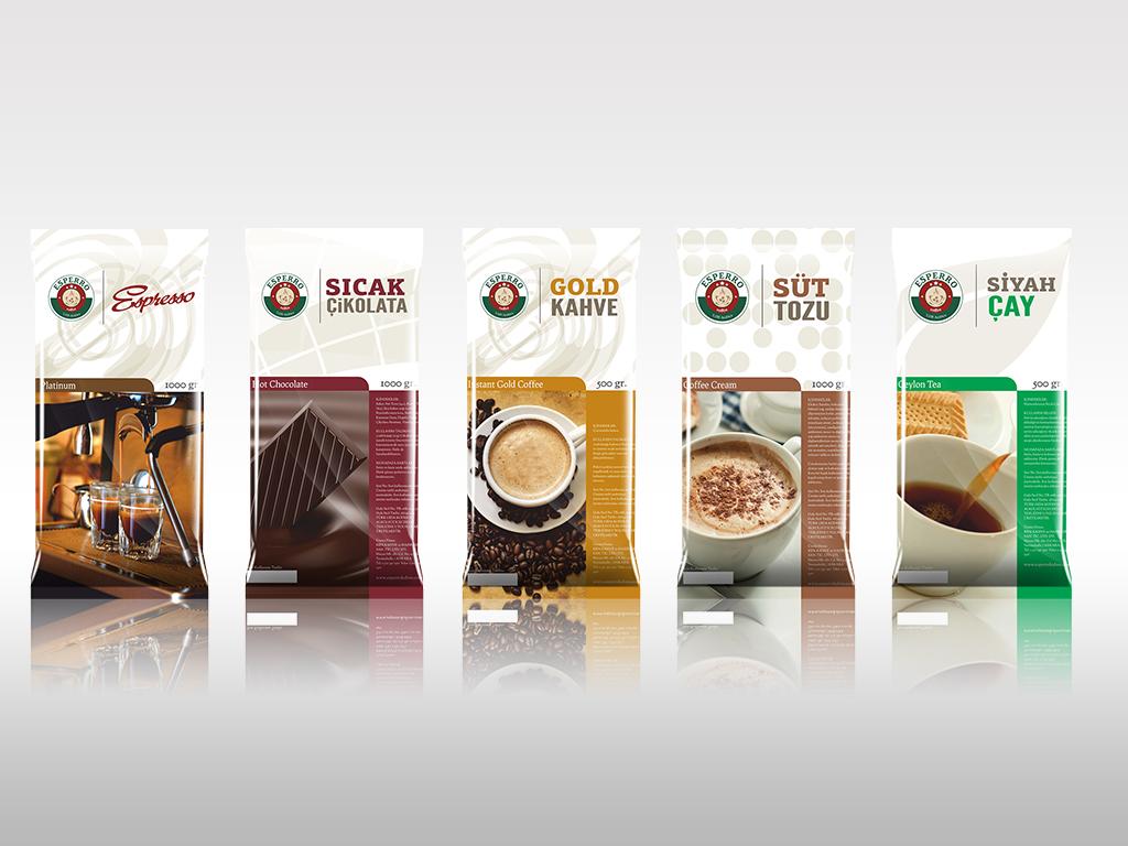Esperro Kahve Ürün Ambalaj Tasarımları