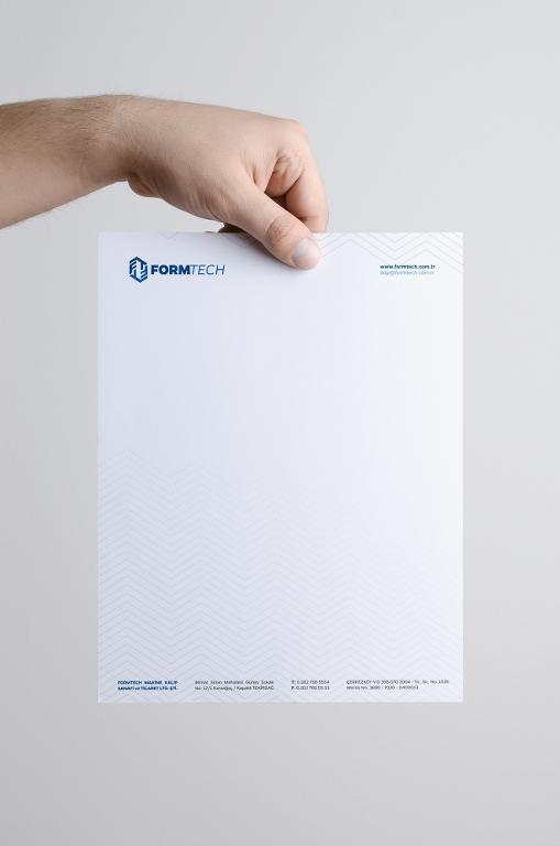 Formtech Antetli Kağıt