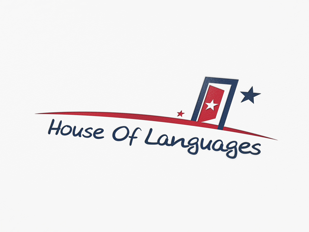 House of Language Logo Tasarımı