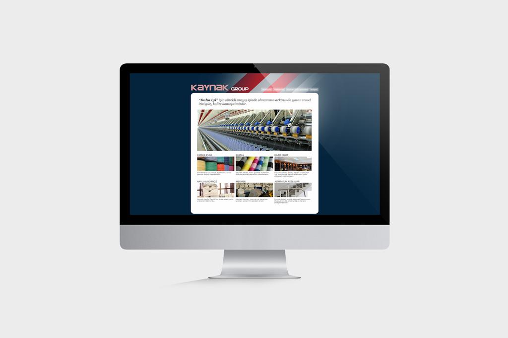 Kaynak Group Web Tasarımı