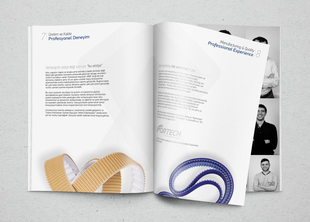 Orhan Sanayi Kayışları Katalog Tasarımı