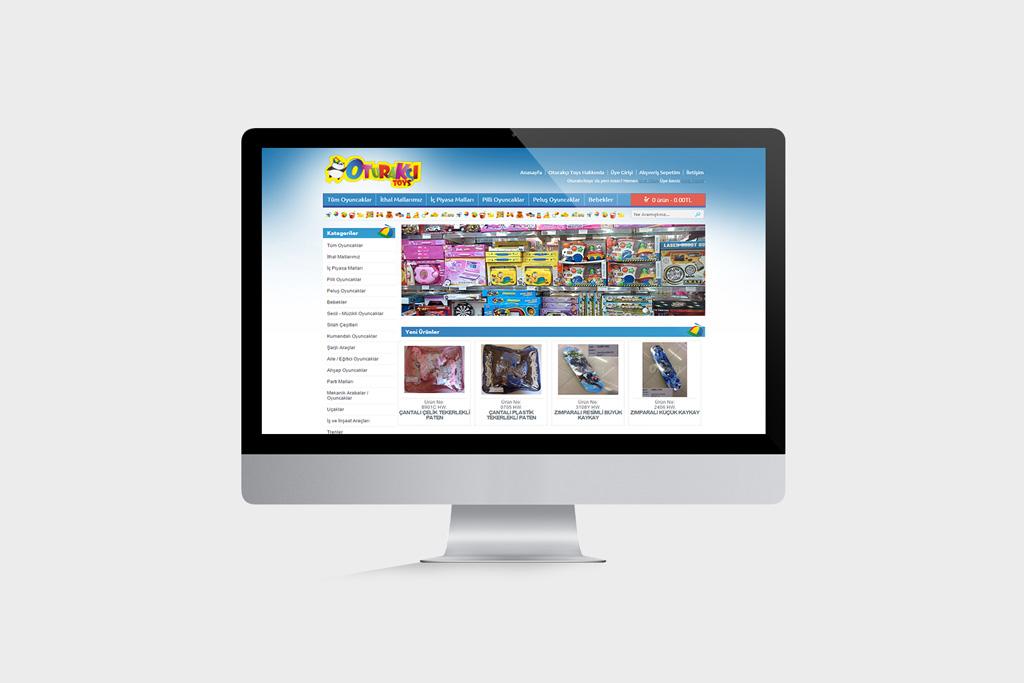 Oturakçı Toys Web Tasarımı