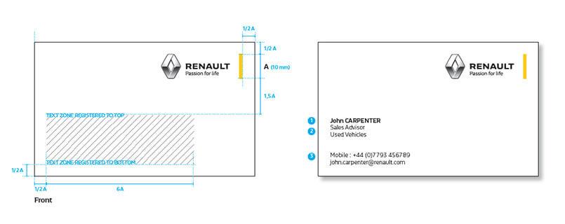 Renault kurumsal kimlik tasarımı