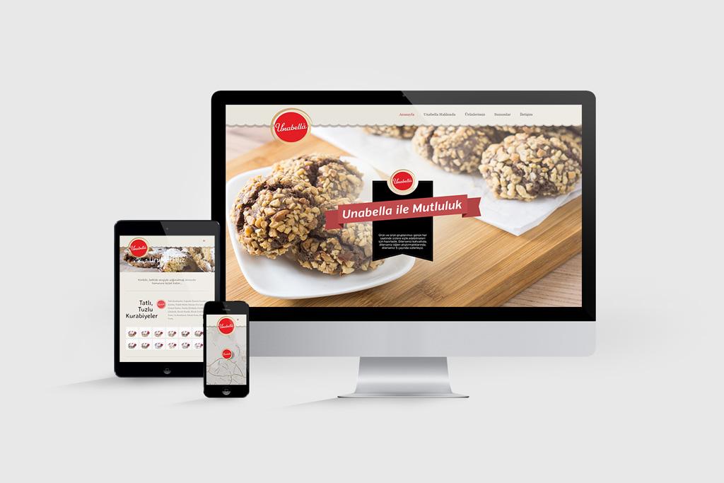 Unabella Web Sitesi Tasarımı