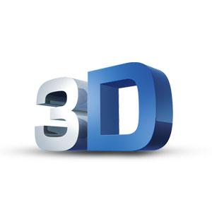 3D logo tasarımı örneği
